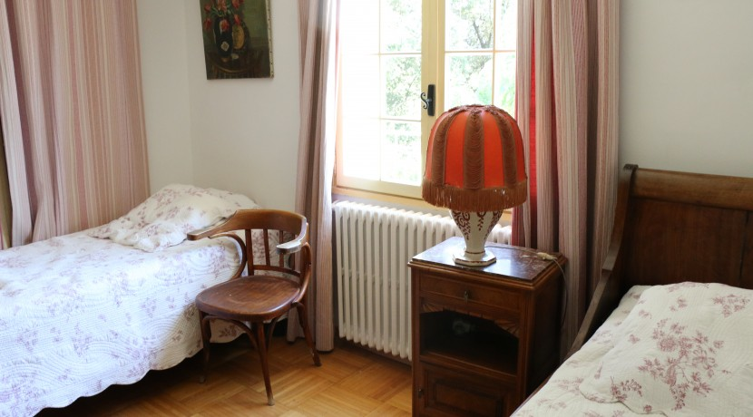 Chambre lits simples