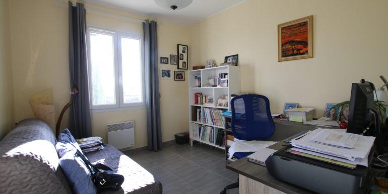 Caromb villa chambre