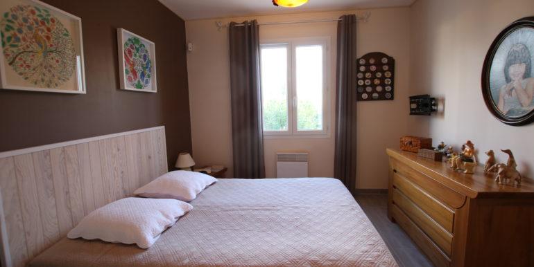 Caromb villa chambre suite parentale