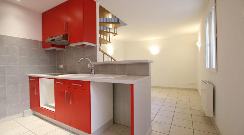 Aubignan maison avec exterieur cuisine