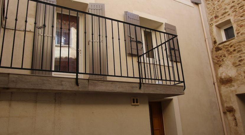Aubignan maison avec exterieur façade