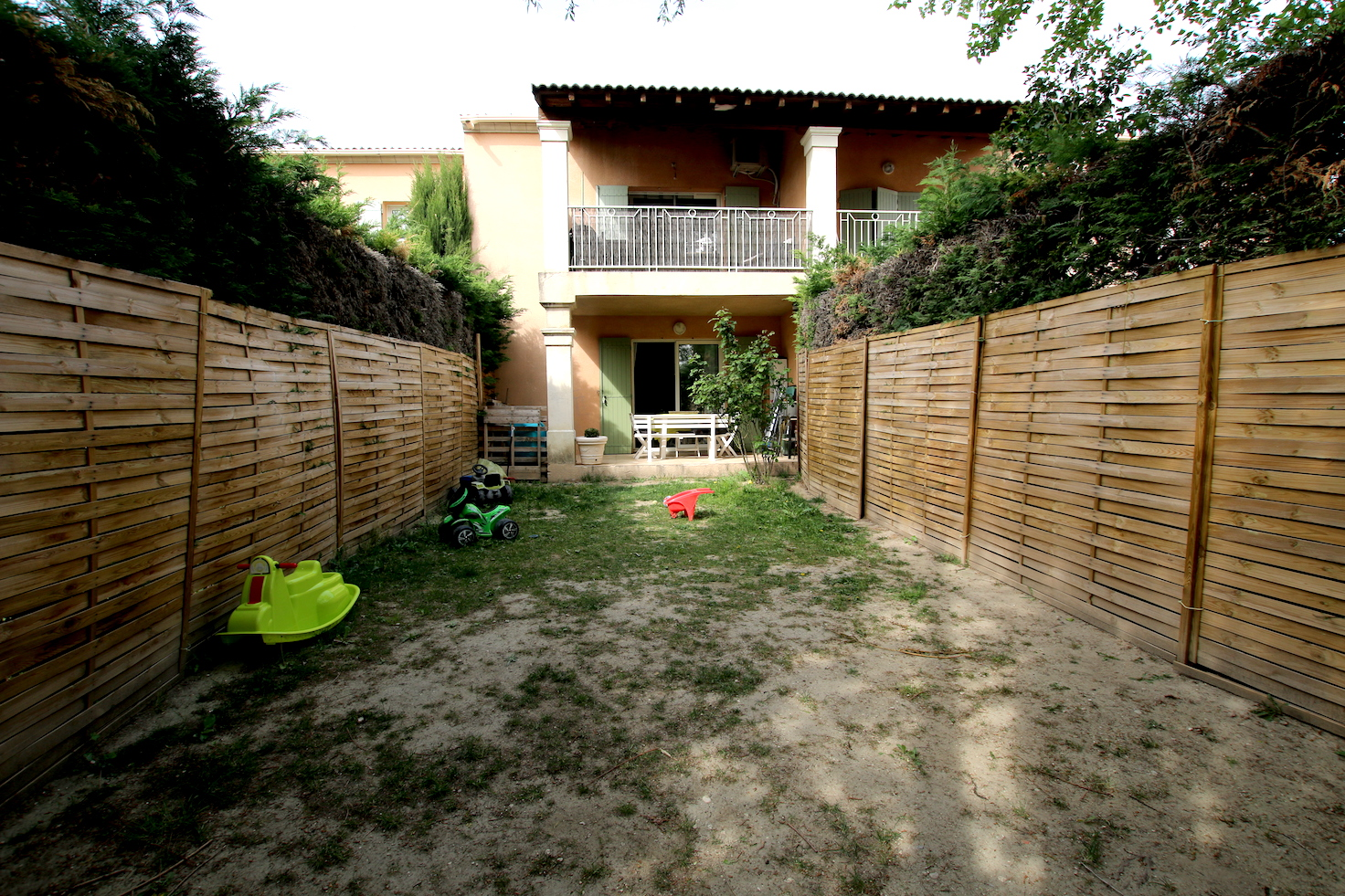 Carpentras : T3 avec jardin et parking