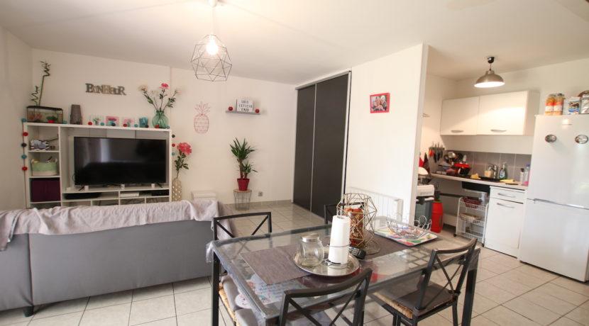 Carpentras T3 avec jardin salon cuisine