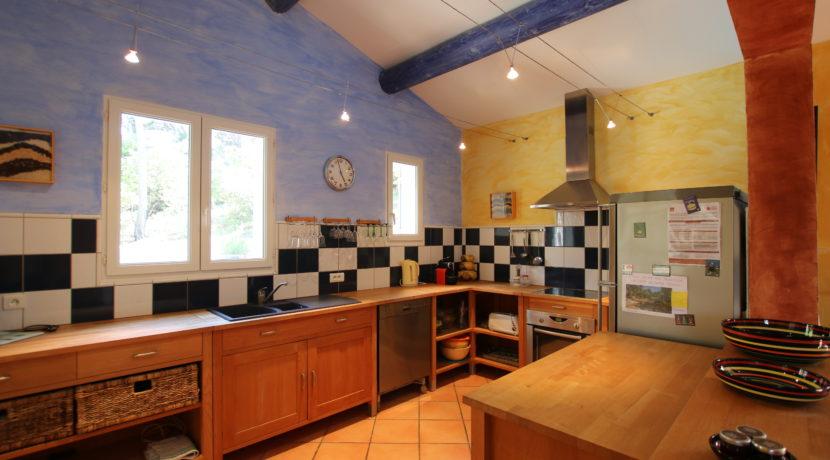 Malaucene maison cuisine