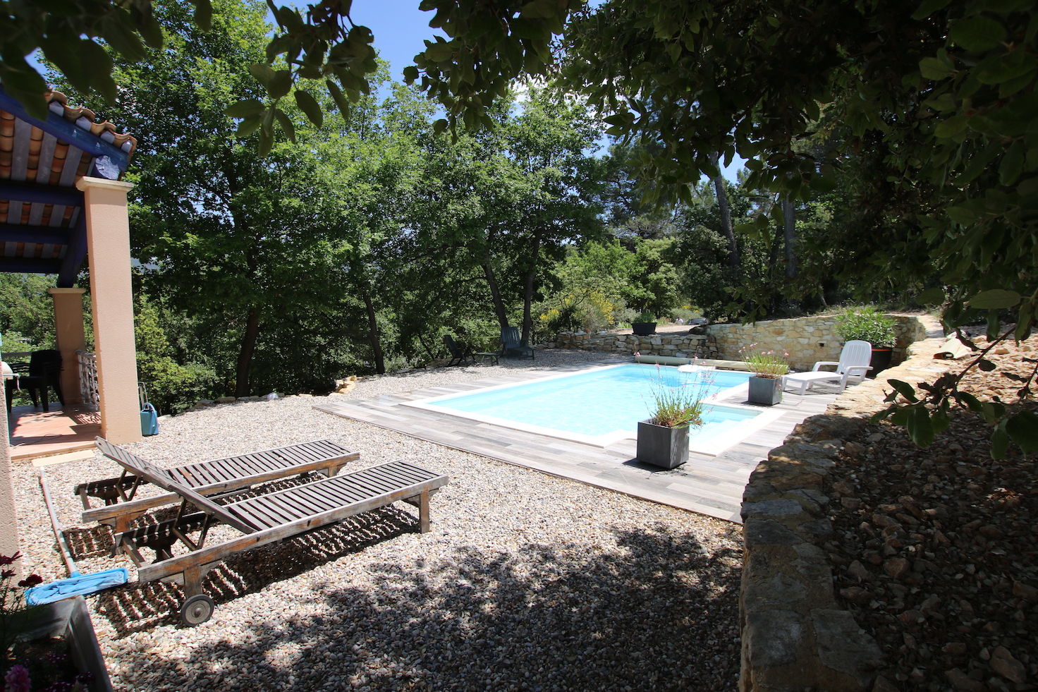 Malaucene : villa avec piscine