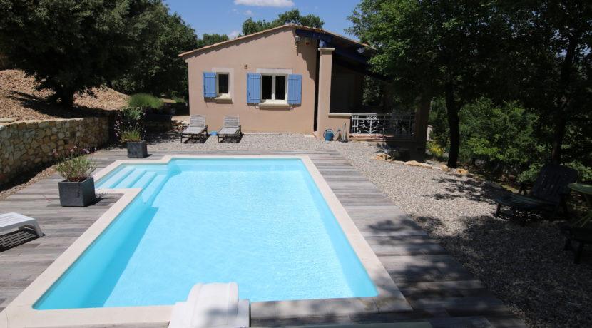 Malaucene maison piscine sud copie