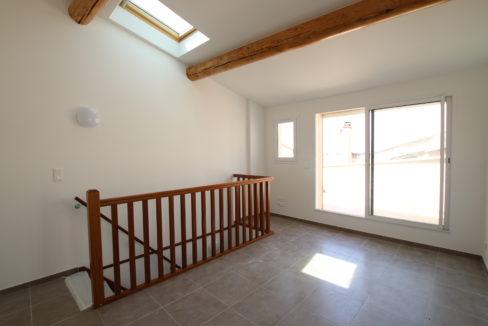 Aubignan terrasse de toit chambre 2 bis