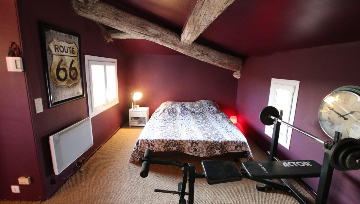 Mallemort maison de village chambre 3