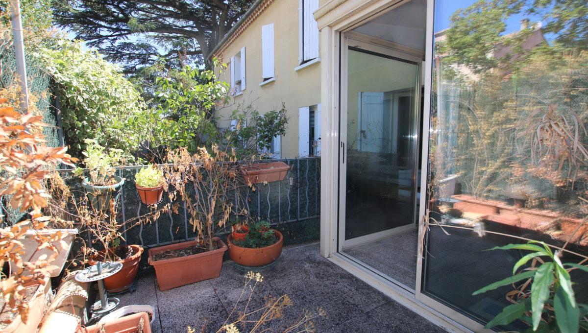 Carpentras appartement veranda terrasse