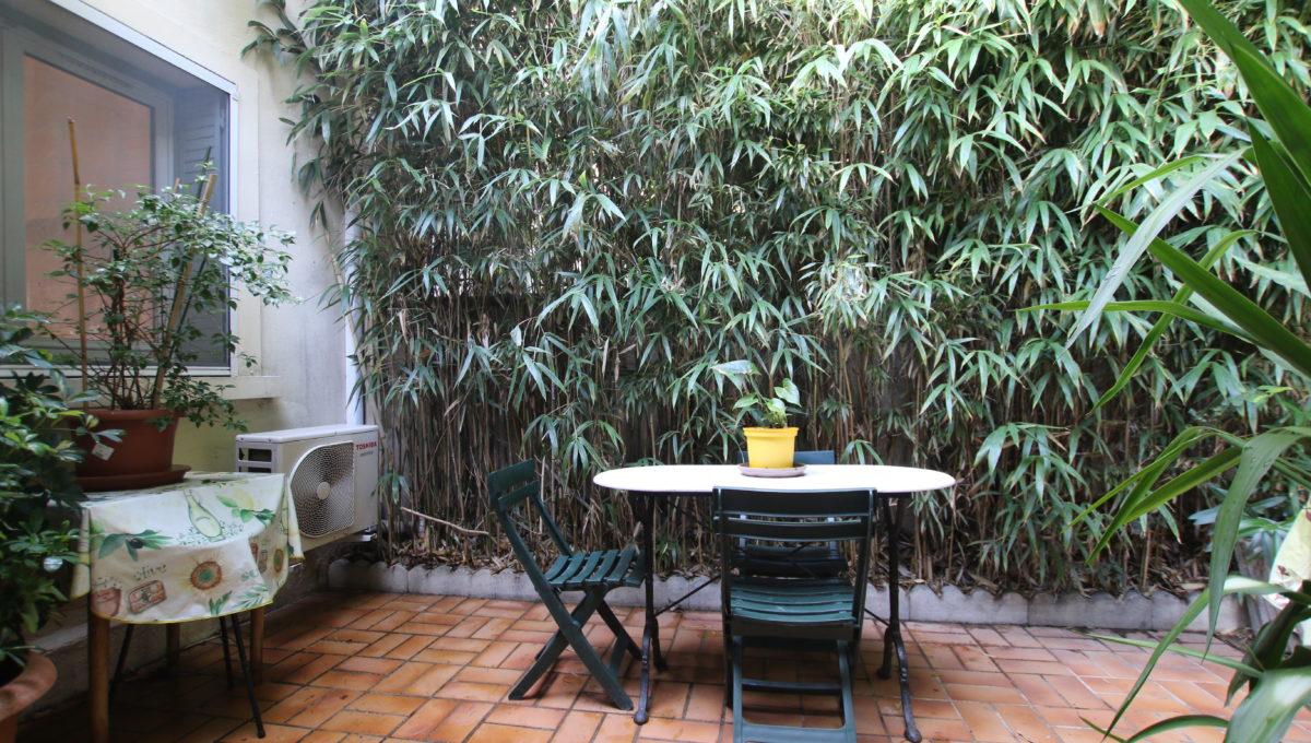 Carpentras maison avec jardin cour arrière